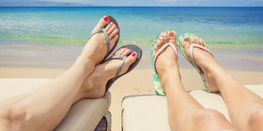 pies perfectos verano